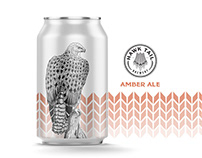 Hawk Tail Brewery - Style Discovery & Packaging Design