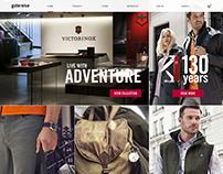 Website For Victorinox - Glutereise