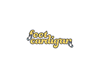 Foot Cardigan Wordmark