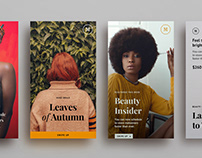 Storygram Instagram Templates