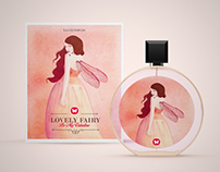 Lovely Fairy perfume | Packaging