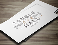 Treble Hall - Logo Development Concepts