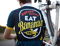 "Cycling Trikot ""Eat Bananas"""
