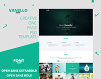 Vanello | Corporate/Business Web Template