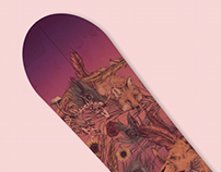 Pallas Snowboards; Illustration