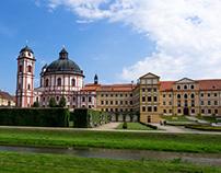 Jaromerice nad Rokytnou - castle and garden