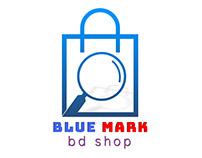 Blue Mark Logo Design