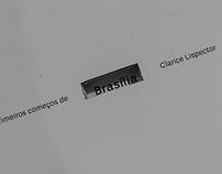 Projeto editorial | Crônica de Clarice Lispector