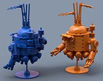 Lego SteamPunk & Robots