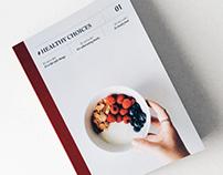 #HealthyChoices | Interactive Print Design