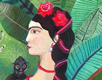 Aurelia Fronty -Frida Kahlo