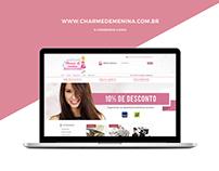 E-commerce Charme de Menina [Iluria]
