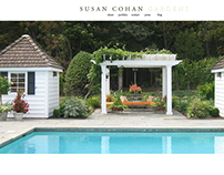 Website Redesign: Susan Cohan Gardens
