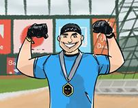Spartan athlete