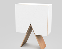 """IXA"" Chest of drawers design"