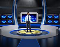 virtual set studio tv 13