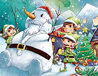 Christmas Press Ad 2014 & storybook leaflet 2014