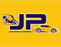 """JP"" Logo Design"