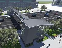 Pedestrian overpass 2012