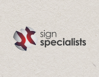 Sign Specialist Logo Concepts