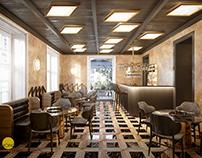 Hotel 11 - commercial interior visualization | CGI