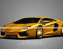 GOLDEN CAR.