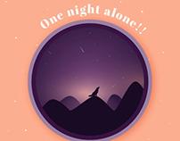 One night alone!!!