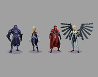 X-Men: Apocalypse - Adult Swim ad spot (pixel art)