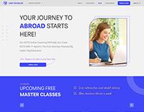 IELTS Online Training Webdesign