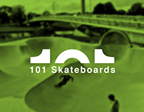 101 Skateboards Rebrand