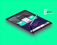 Site web de la société Generactiv Marketing