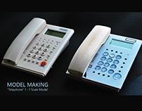 Model Making - Telephone (Prototyping)