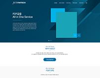 AOS Fintech Web design 02
