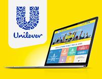 Unilever - Web Design