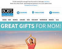 Bob's Stores - Email - Mother's Day