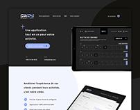 Skrap — Application Landing Page