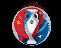 UEFA EURO 2016 Logo Photoshop Remake