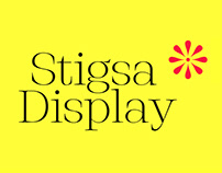 Stigsa Display Font Family