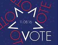 "AIGA ""Get Out the Vote"" Poster"