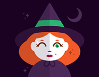 Wee Winking Witch