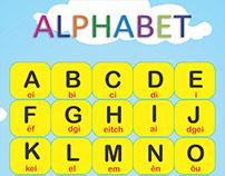 Banner - Alfabeto em Inglês