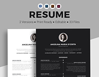Modern and Clean Resume