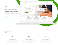 Titan - Business theme