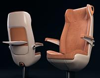 KAVICS / PEBBLE Economy class intercity passanger seat