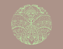 Mandalas ilustrados a mano