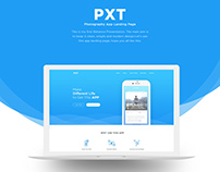 PXT (App Landing Page)