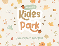 KIDOS PARK FUN CHILDREN TYPEFACE - FREE FONT