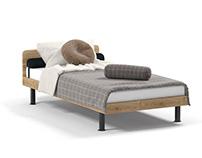Bed PN-496