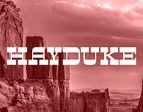 Hayduke—Typeface Design