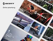 Scott online advertising